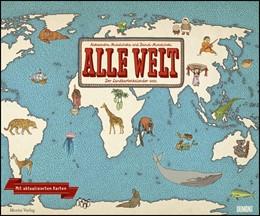 Abbildung von Alle Welt 2021 - Landkarten-Kalender von DUMONT- Kinder-Kalender - Querformat 58,4 x 48,5 cm | 1. Auflage | 2020 | beck-shop.de
