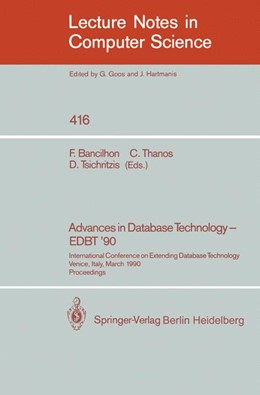 Abbildung von Bancilhon / Thanos / Tsichritzis | Advances in Database Technology - EDBT '90 | 1990