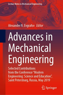 Abbildung von Evgrafov | Advances in Mechanical Engineering | 1st ed. 2020 | 2020 | Selected Contributions from th...