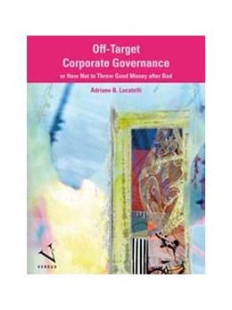 Abbildung von Lucatelli | Off-Target Corporate Governance | 1. Auflage | 2013 | beck-shop.de