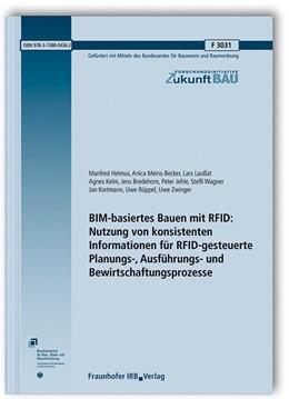 Abbildung von Helmus / Meins-Becker | BIM-basiertes Bauen mit RFID: Nutzung von konsistenten Informationen für RFID-gesteuerte Planungs-, Ausführungs- und Bewirtschaftungsprozesse. | 1. Auflage | 2019 | beck-shop.de