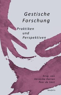 Abbildung von Darian / De Smit | Gestische Forschung | 1. Auflage | 2020 | beck-shop.de