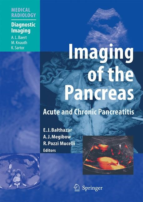 Abbildung von Balthazar / Megibow / Pozzi Mucelli | Imaging of the Pancreas | 2009