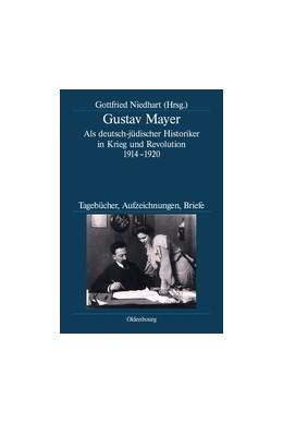 Abbildung von Niedhart | Gustav Mayer | 2009 | Als deutsch-jüdischer Historik... | 65