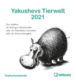 Abbildung von Yakushevs Tierwelt 2021 - Postkarten-Kalender | 2020