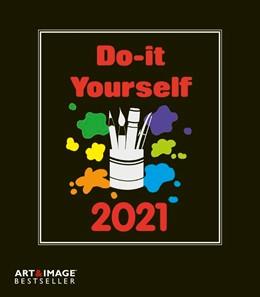 Abbildung von Do-it-yourself Bastelkalender 2021 klein. Bastelpapier schwarz | 2020 | Kalender zum Selbstgestalten