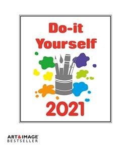 Abbildung von Do-it-Yourself Bastelkalender 2021 klein. Bastelpapier weiß | 1. Auflage | 2020 | beck-shop.de