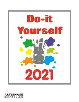 Abbildung von Do-it-Yourself Foto Bastelkalender 2021 groß. Bastelpapier weiß | 1. Auflage | 2020 | beck-shop.de