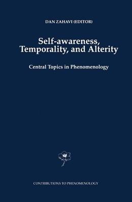 Abbildung von Zahavi | Self-Awareness, Temporality, and Alterity | 1998 | Central Topics in Phenomenolog... | 34