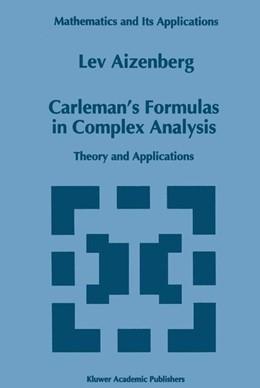Abbildung von Aizenberg   Carleman's Formulas in Complex Analysis   1993