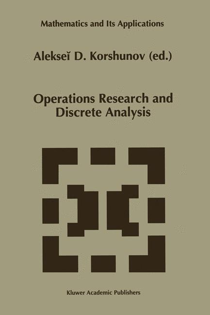 Abbildung von Korshunov   Operations Research and Discrete Analysis   1996