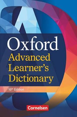 Abbildung von Oxford Advanced Learner's Dictionary. B2-C2 - Wörterbuch (Festeinband)   10. Auflage   2020   beck-shop.de