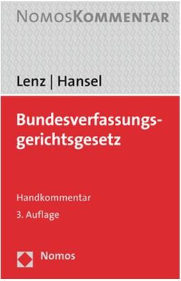 Abbildung von Lenz / Hansel | Bundesverfassungsgerichtsgesetz | 3. Auflage | 2020 | beck-shop.de
