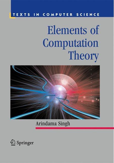 Abbildung von Singh | Elements of Computation Theory | 2009