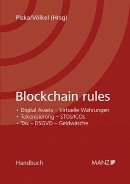 Abbildung von Piska / Völkel | Blockchain rules | 2019