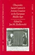 Abbildung von Obscenity: Social Control and Artistic Creation in the European Middle Ages | 1998