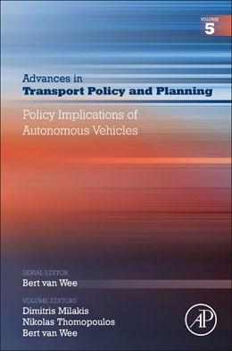 Abbildung von Policy Implications of Autonomous Vehicles | 1. Auflage | 2020 | 5 | beck-shop.de