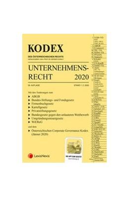Abbildung von Doralt | KODEX Unternehmensrecht 2020 | 59. Auflage 2020 | 2020