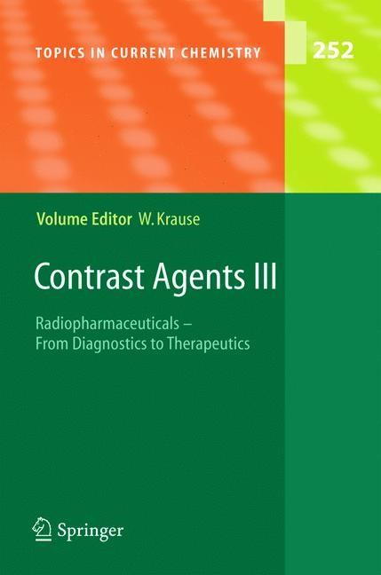 Abbildung von Krause | Contrast Agents III | 2005
