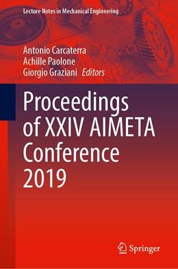 Abbildung von Carcaterra / Paolone / Graziani | Proceedings of XXIV AIMETA Conference 2019 | 1st ed. 2020 | 2020