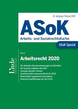 Abbildung von Rauch | ASoK-Spezial Arbeitsrecht 2020 | 1. Auflage | 2020 | beck-shop.de