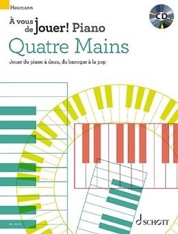 Abbildung von Heumann | Quatre mains | 1. Auflage | 2020 | beck-shop.de