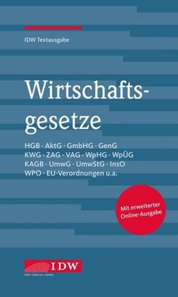 Abbildung von Institut der Wirtschaftsprüfer | Wirtschaftsgesetze | 36. Auflage | 2020 | beck-shop.de