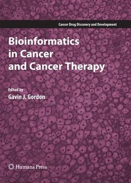 Abbildung von Gordon   Bioinformatics in Cancer and Cancer Therapy   2008