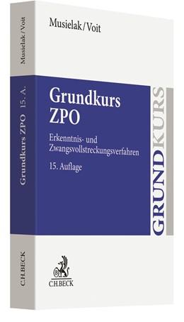 Abbildung von Musielak / Voit | Grundkurs ZPO | 15. Auflage | 2020 | beck-shop.de
