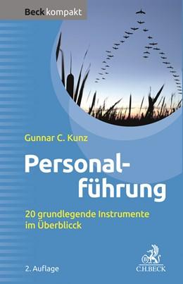 Abbildung von Kunz | Personalführung | 2. Auflage | 2020 | beck-shop.de