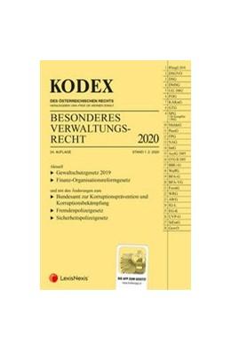 Abbildung von Doralt | KODEX Besonderes Verwaltungsrecht 2020 | 24. Auflage | 2020