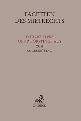 Abbildung von Facetten des Mietrechts | 1. Auflage | 2020 | beck-shop.de