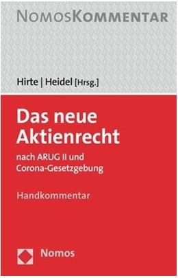 Abbildung von Hirte / Heidel (Hrsg.)   Das neue Aktienrecht   1. Auflage   2020   beck-shop.de