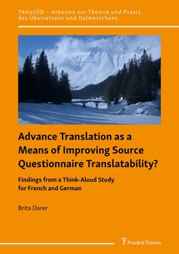 Abbildung von Dorer | Advance Translation as a Means of Improving Source Questionnaire Translatability? | 2020 | Findings from a Think-Aloud St...