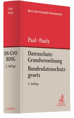 Abbildung von Paal / Pauly | Datenschutz-Grundverordnung Bundesdatenschutzgesetz: DS-GVO BDSG | 3. Auflage | 2021 | beck-shop.de