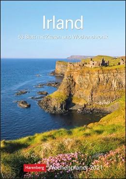 Abbildung von Sarti / Harenberg | Irland 2021 Wochenplaner | 2020 | Wochenplaner, 53 Blatt mit Zit...
