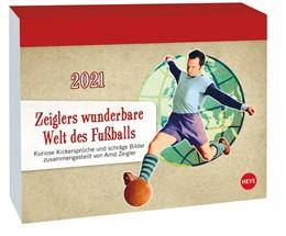 Abbildung von Zeiglers wunderbare Welt des Fußballs - Tagesabreißkalender 2021 | 2020