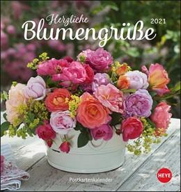 Abbildung von Herzliche Blumengrüße 2021. Postkartenkalender | 2020