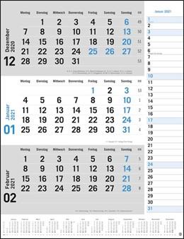 Abbildung von 3-Monats-Planer grau 2021   1. Auflage   2020   beck-shop.de