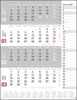 Abbildung von 4-Monats-Planer 2021   1. Auflage   2020   beck-shop.de