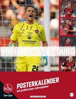 Abbildung von 1. FC Nürnberg Posterkalender 2021 | 2020 | Jahresübersicht mit Spielergeb...