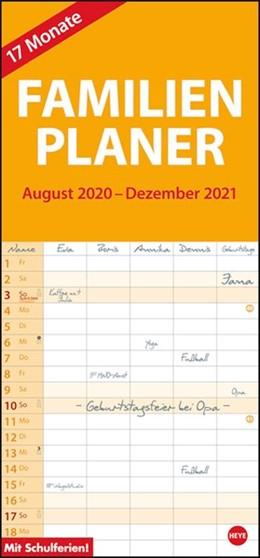 Abbildung von 17-Monats-Familienplaner 2021 | 1. Auflage | 2020 | beck-shop.de
