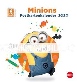Abbildung von Heye | Minions Postkartenkalender - Kalender 2021 | 2020