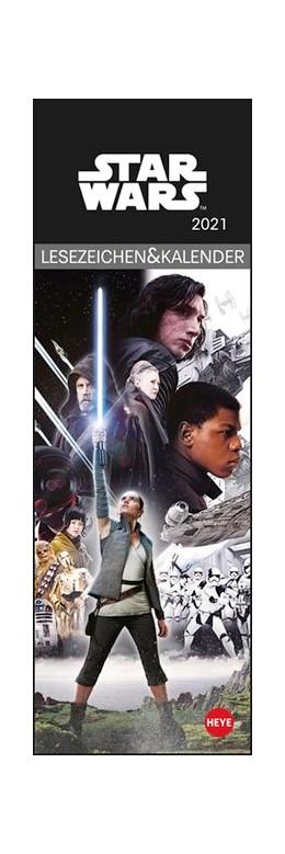 Abbildung von Heye   Star Wars Lesezeichen & Kalender 2021   1. Auflage   2020   beck-shop.de