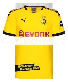 Abbildung von Heye | Borussia Dortmund Trikotkalender - Kalender 2021 | 1. Auflage | 2020 | beck-shop.de