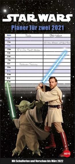 Abbildung von Heye | Star Wars Planer für zwei Kalender 2021 | 2020