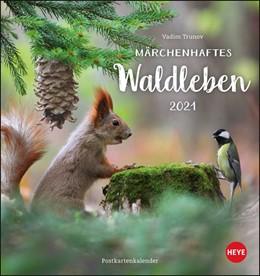 Abbildung von Heye / Trunov | Trunov Waldtiere Postkartenkalender 2021 | 2020