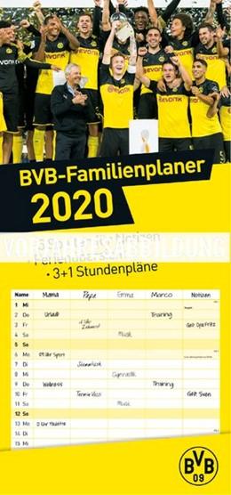 Abbildung von Heye   Borussia Dortmund Familienplaner - Kalender 2021   2020