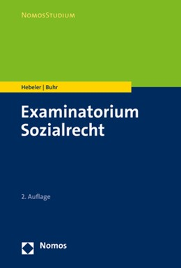 Abbildung von Hebeler / Buhr   Examinatorium Sozialrecht   2. Auflage   2020   beck-shop.de