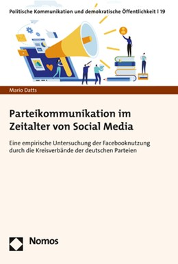 Abbildung von Datts | Parteikommunikation im Zeitalter von Social Media | 1. Auflage | 2020 | beck-shop.de